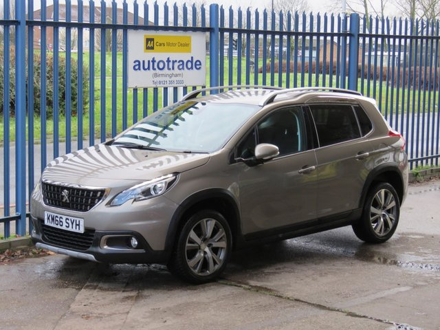 USED 2016 66 PEUGEOT 2008 1.2 PURETECH S/S ALLURE 5d 110 BHP £20 road Tax & Great Fuel Economy