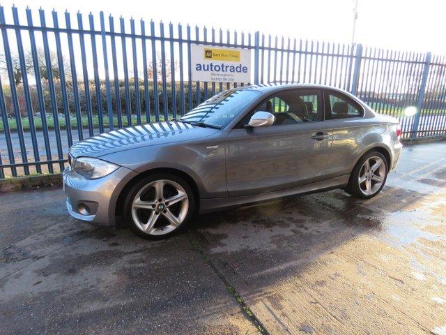 USED 2013 13 BMW 1 SERIES 2.0 118D EXCLUSIVE EDITION 2d 141 BHP Jan 2022 MOT, FULL LEATHERTRIM £30 Tax