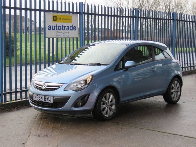USED 2014 64 VAUXHALL CORSA 1.2 EXCITE 3d 83 BHP Low Mileage & Service History