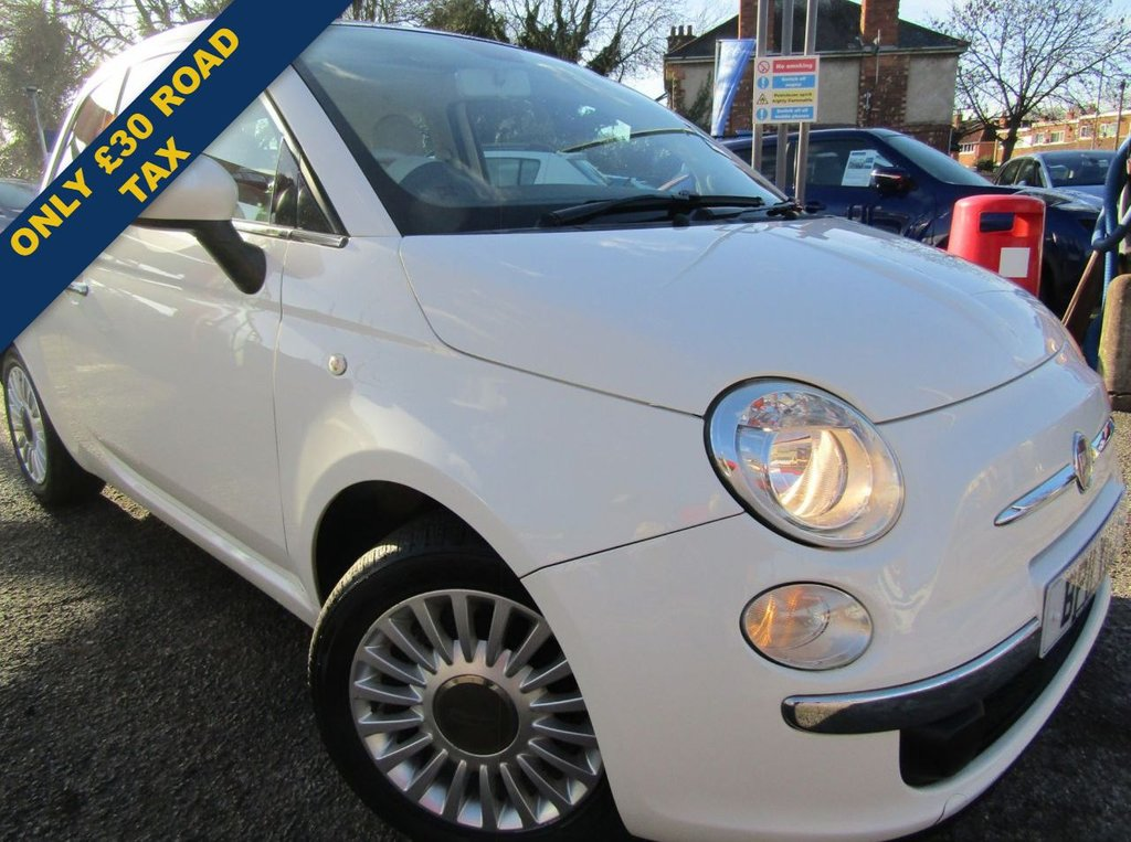 USED 2011 11 FIAT 500 1.2 LOUNGE 3d 69 BHP ONLY COVERED 50000 MILES ,,SERVICE HISTORY,,GREAT ECONOMY,,ONLY £30 ROAD TAX,,BLUETOOTH,,SUNROOF,,AND MUCH MORE,,PART EXCHANGE WELCOME,,