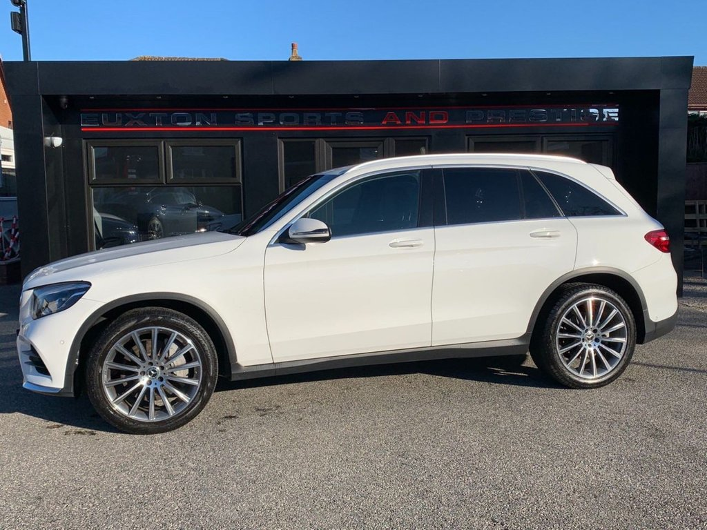 USED 2018 18 MERCEDES-BENZ GLC-CLASS 2.1 GLC220d AMG Line G-Tronic 4MATIC (s/s) 5dr FULL MERCEDES HISTORY