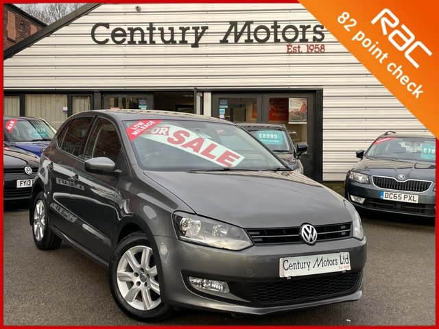 2013 63 VOLKSWAGEN POLO 1.4 Match Edition 5dr - PARKING SENSORS