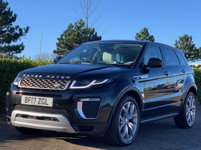 USED 2017 17 LAND ROVER RANGE ROVER EVOQUE 2.0 TD4 AUTOBIOGRAPHY 5d 177 BHP