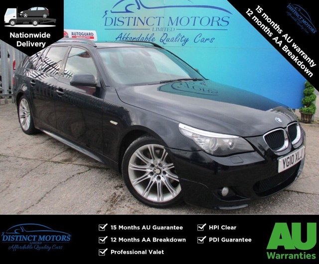 USED 2010 BMW 5 SERIES 2.0 520D M SPORT BUSINESS EDITION TOURING 5d 175 BHP