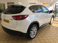 USED 2013 63 MAZDA CX-5 2.2d Sport Nav 5dr 5 Seat Family SUV AWD Diesel Auto Stunning in White with Black Heated Leather Seats and Massive High Spec. Recent Service & MOT. Now Ready to Finance and Drive Away Today 1 Former Keeper