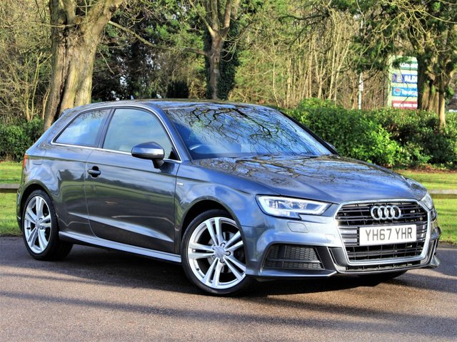 USED 2017 67 AUDI A3 1.5 TFSI S LINE 3d 148 BHP £196 PCM With £1499 Deposit