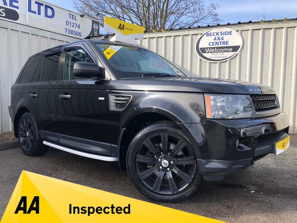 USED 2009 59 LAND ROVER RANGE ROVER SPORT 3.0 TDV6 HSE 5d 245 BHP AA INSPECTED. FINANCE. WARRANTY. HIGH SPEC. LOW MILEAGE. MANY EXTRAS