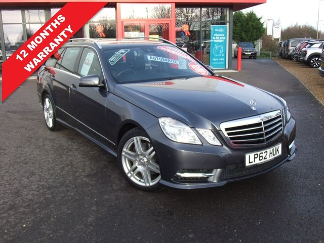 USED 2013 62 MERCEDES-BENZ E-CLASS 2.1 E250 CDI BLUEEFFICIENCY SPORT 5d 204 BHP *****12 Months Warranty*****