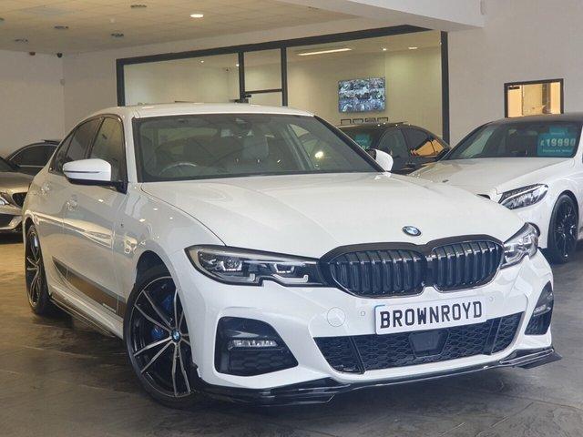 USED 2019 19 BMW 3 SERIES 2.0 320D XDRIVE M SPORT 4d 188 BHP BM PERFORMANCE STYLING+X-DRIVE