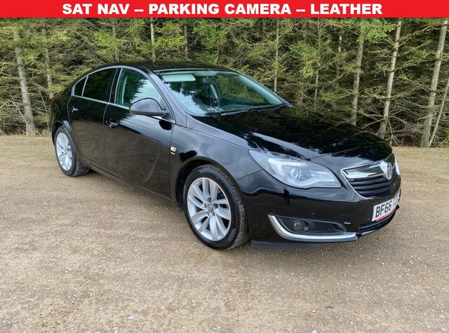 USED 2016 66 VAUXHALL INSIGNIA 1.4 SRI NAV S/S 5d 138 BHP SAT NAV & PARKING CAMERA -- LEATHER — COMPREHENSIVE VAUXHALL HISTORY