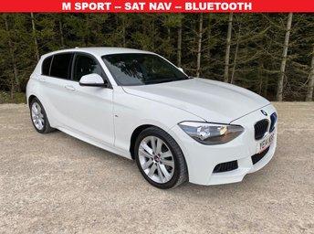 2014 BMW 1 SERIES 2.0 118D M SPORT 5d 141 BHP £9500.00