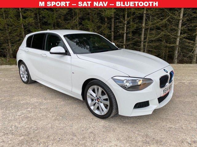 USED 2014 14 BMW 1 SERIES 2.0 118D M SPORT 5d 141 BHP M SPORT -- SAT NAV -- BLUETOOTH