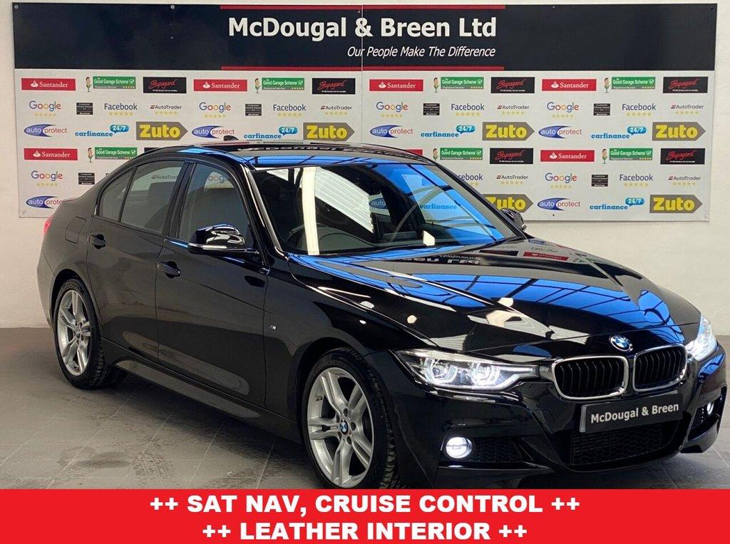 USED 2017 67 BMW 3 SERIES 2.0L 318D M SPORT 4d 148 BHP