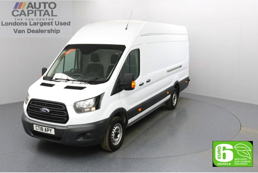 USED 2018 18 FORD TRANSIT 2.0 350 RWD L4 H3 X-LWB 130 BHP Euro 6 Low Emission Finance Available Online | Extra LWB | RWD | UK Delivery