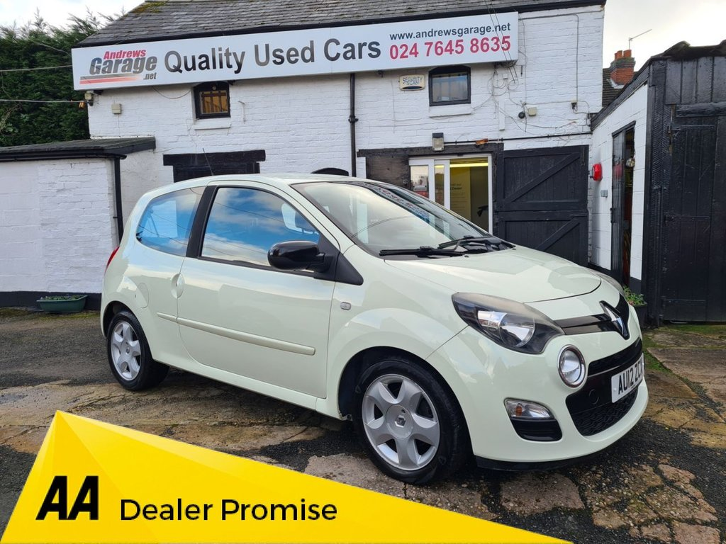 USED 2012 RENAULT TWINGO 1.1 DYNAMIQUE 3d 75 BHP