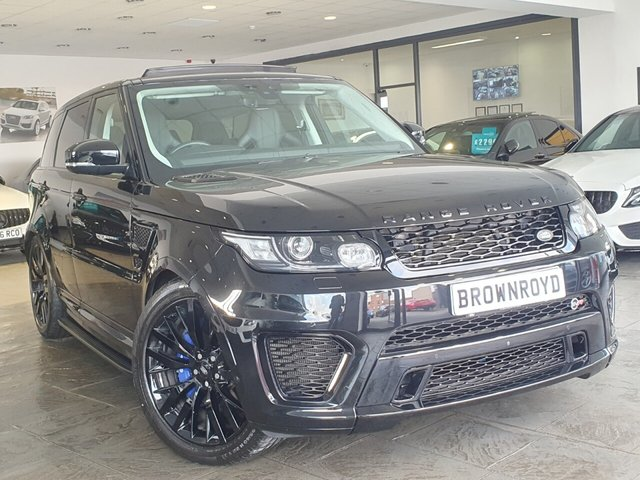 USED 2017 67 LAND ROVER RANGE ROVER SPORT 5.0 V8 SVR 5d 543 BHP PAN ROOF+360 CAM+LOW MILES