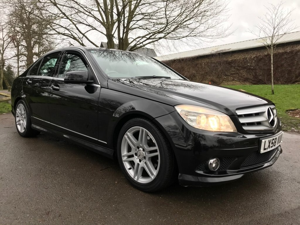 USED 2008 58 MERCEDES-BENZ C-CLASS 1.8 C180 KOMPRESSOR SPORT 4d 155 BHP Great Value C Class Sport With Super Low Mileage And Full Service History.