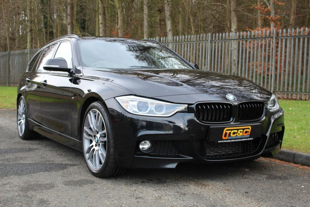 USED 2015 65 BMW 3 SERIES 3.0 330D M SPORT TOURING 5d 255 BHP A STUNNING LOW OWNER, LOW MILEAGE, HIGH SPECIFICATION 330D WITH HK AUDIO, PRO NAV, M BRAKES AND MORE!!!