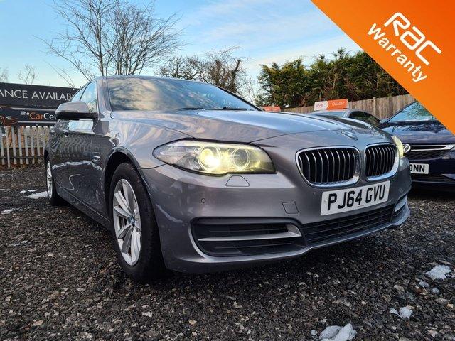 USED 2014 64 BMW 5 SERIES 2.0 520D SE 4d 188 BHP