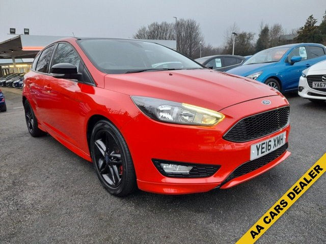 USED 2016 16 FORD FOCUS 2.0 ZETEC S TDCI RED EDITION 5d 148 BHP