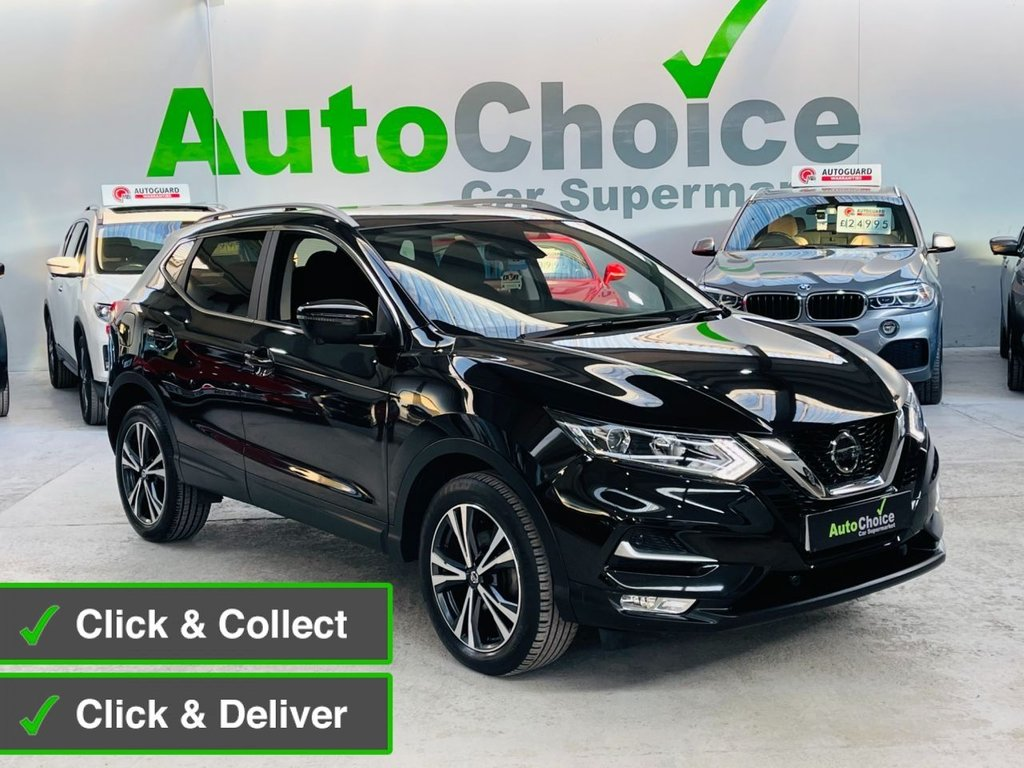 USED 2018 18 NISSAN QASHQAI 1.2 N-CONNECTA DIG-T 5d 113 BHP