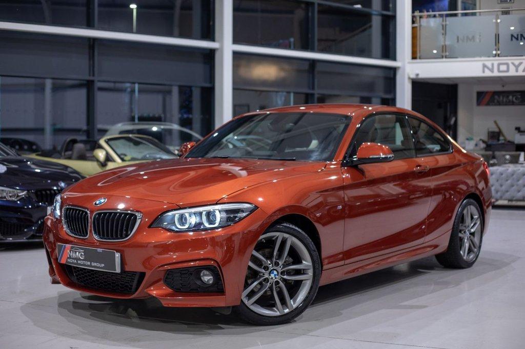 USED 2018 68 BMW 2 SERIES 2.0 218D M SPORT 2d 148 BHP