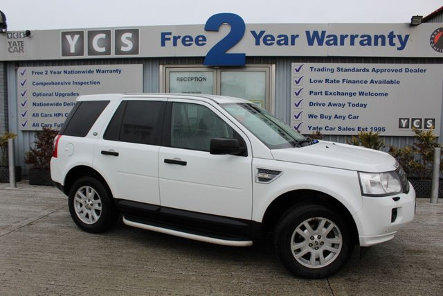 2011 60 LAND ROVER FREELANDER 2 2.2 TD4 XS 5d 150 BHP (FREE 2 YEAR WARRANTY)