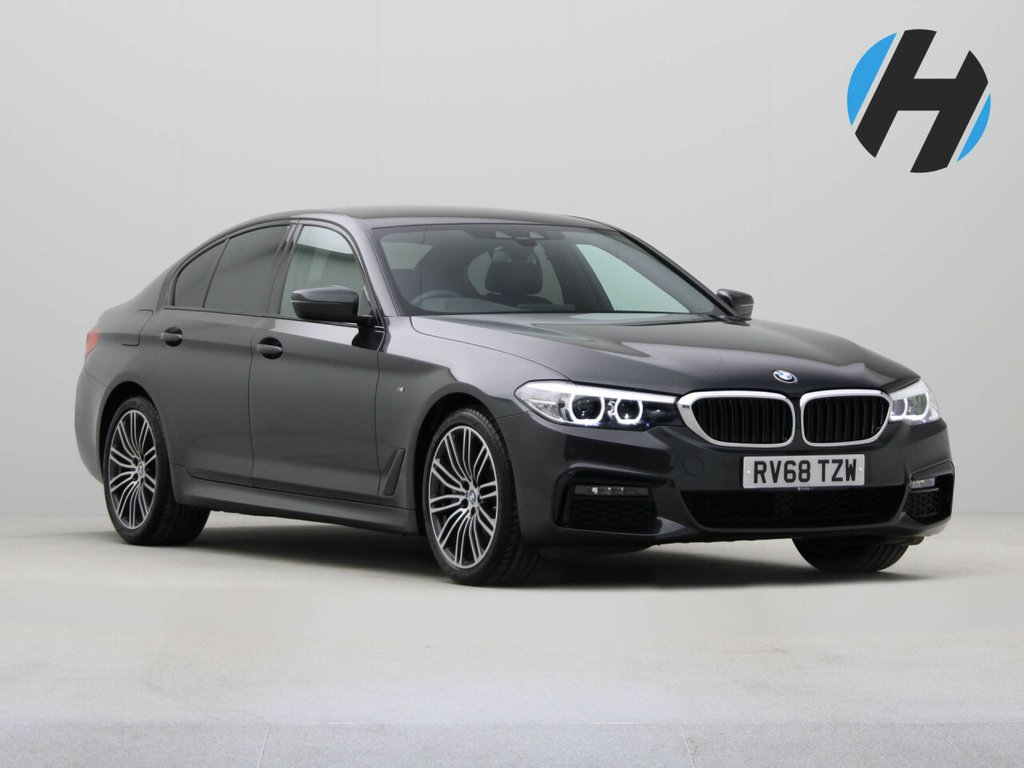 USED 2018 68 BMW 5 SERIES 2.0 530I M SPORT