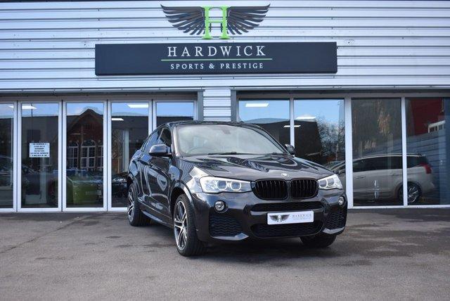 2014 14 BMW X4 3.0 XDRIVE30D M SPORT 4d 255 BHP