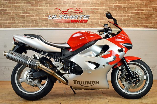USED 2001 Y TRIUMPH TT 600  - FREE DELIVERY AVAILABLE