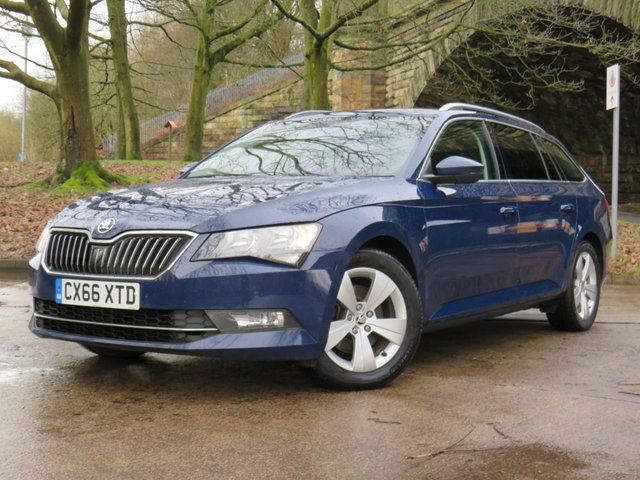 USED 2016 66 SKODA SUPERB 2.0 SE TECHNOLOGY TDI DSG 5d 148 BHP
