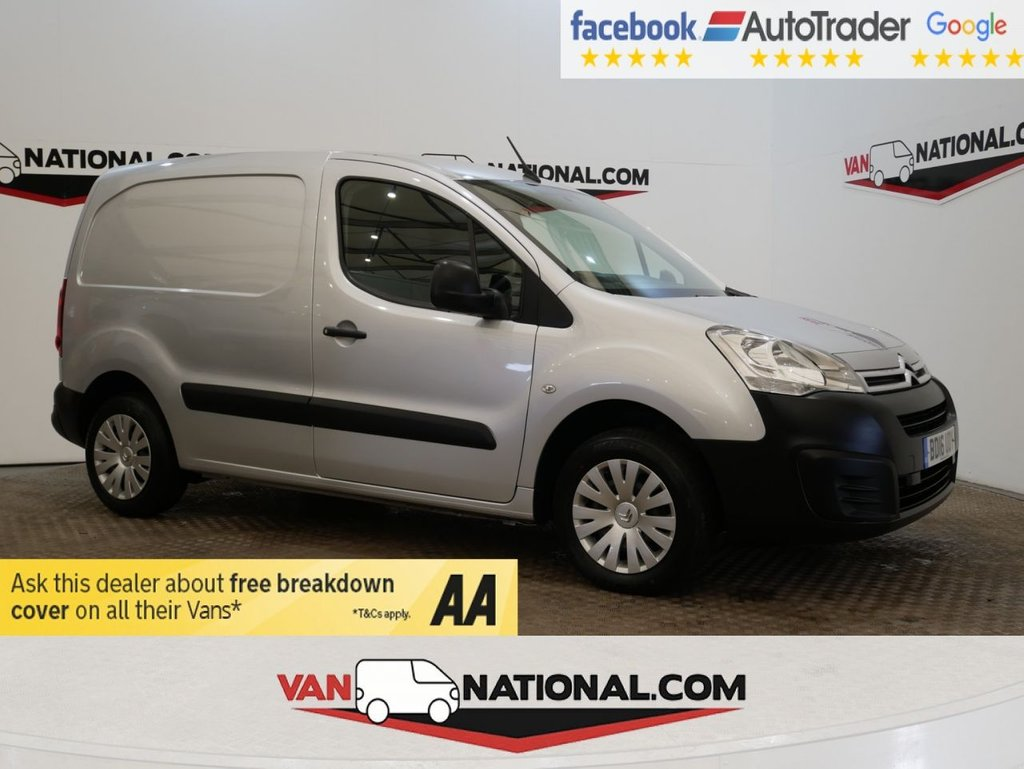 USED 2016 16 CITROEN BERLINGO 1.6 625 ENTERPRISE L1 HDI 75 BHP *SAT NAV*AIR CON* * ONE OWNER * AIR CON * NAV * ZERO DEPOSIT FINANCE AVAILABLE *