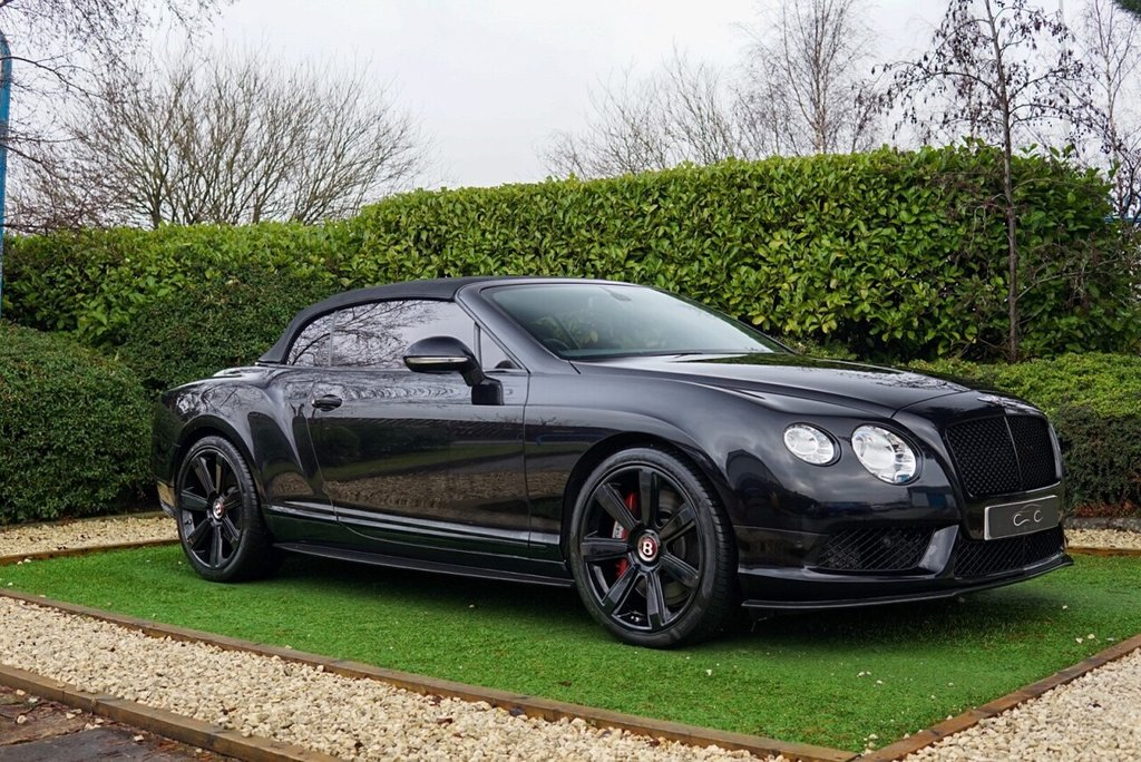 USED 2012 12 BENTLEY CONTINENTAL GTC 4.0 GTC V8 2d 500 BHP