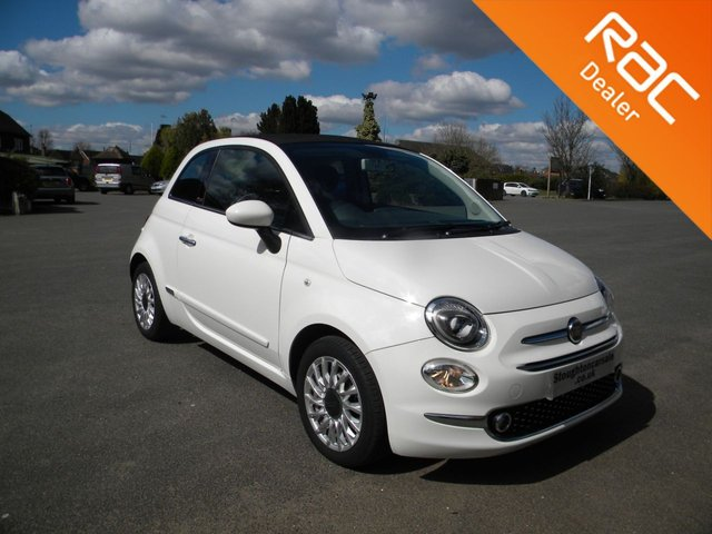 USED 2016 16 FIAT 500C 1.2 LOUNGE 3d 69 BHP BY APPOINTMENT ONLY - Stylish Convertible! Alloy Wheels, Bluetooth, Air Con, Rear Parking Sensors