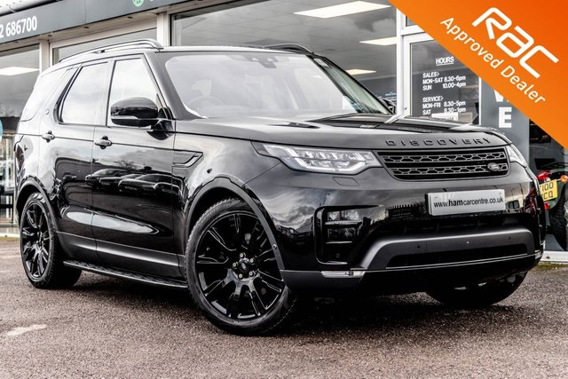 2017 66 LAND ROVER DISCOVERY 3.0 TD6 HSE LUXURY 5d 255 BHP BLACK STYLING PACK
