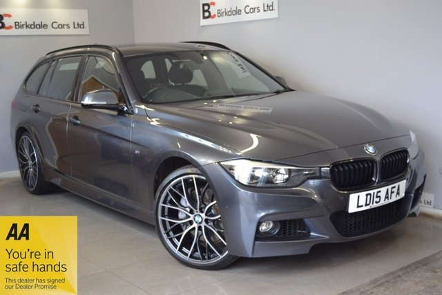 "USED 2015 15 BMW 3 SERIES 3.0 335D XDRIVE M SPORT AWD TOURING 5d 309 BHP Stunning Vehicle - Locally Owned - Full BMW Dealership Service History - Black Leather Interior With Heated Seats - Satellite Navigation - Comprehensive 6 Months Warranty (With The Option To Extend) - December 2021 MOT - Climate Control - Cruise Control - PAS - Electric Tailgate - 20"" BMW Alloy Wheels - USB/AUX Connectivity - Bluetooth - DAB - Front/Rear Parking Sensors - £4000 Extras - Remote Locking With 2 Keys - Complimentary 12 Months AA Cover - Independent 88 Point Pre Sale Health Check"
