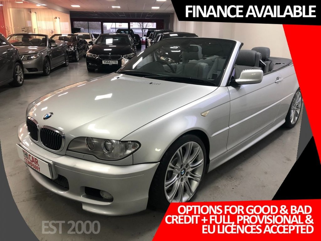 USED 2005 55 BMW 3 SERIES 3.0 330CD SPORT 2d 202 BHP * BODY COLOURED HARD TOP *