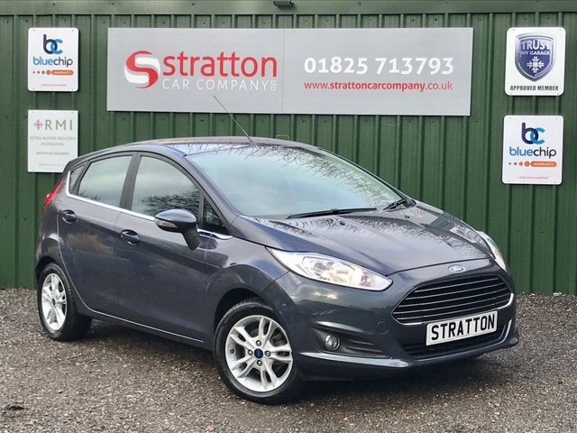 USED 2014 64 FORD FIESTA 1.2 ZETEC 5d 81 BHP ONLY 56,147 MILES