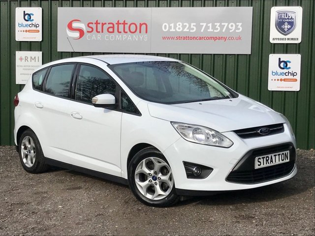 USED 2013 13 FORD C-MAX 1.6 ZETEC TDCI 5d 114 BHP ONLY £30.00 ROAD TAX