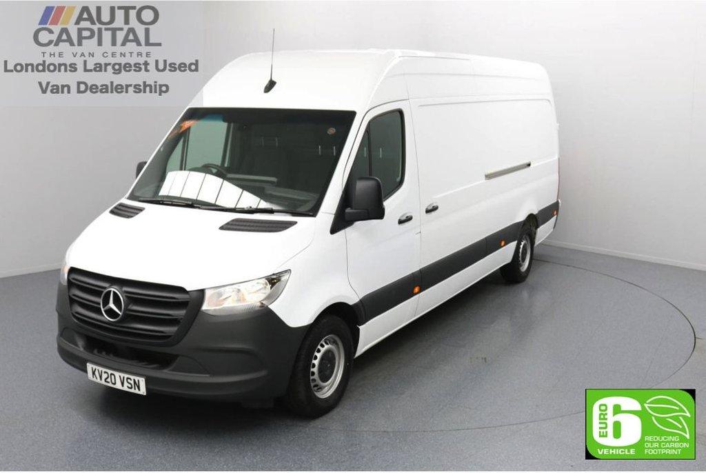 USED 2020 20 MERCEDES-BENZ SPRINTER 2.1 314 CDI RWD 141 BHP L3 H2 LWB Euro 6 Low Emission Keyless Go | Auto Start-Stop system | Rear Wheel Drive | LWB | UK Delivery