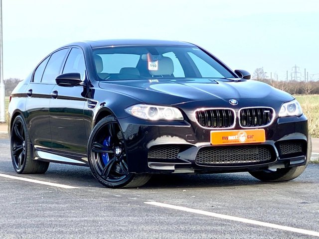 USED 2016 66 BMW M5 4.4 M5 4d AUTO 553 BHP INDIVIDUAL MASSIVE SPEC FBMSH EXTENDED BMW WARRANTY