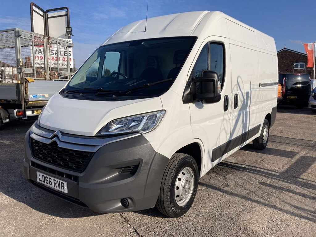 USED 2016 66 CITROEN RELAY 2.0 35 L2H2 ENTERPRISE BLUEHDI 129 BHP 1 OWNER FSH NEW MOT FREE 6 MONTH WARRANTY INCLUDING RECOVERY AND ASSIST NEW MOT