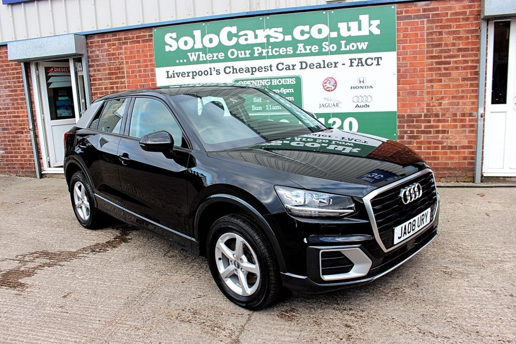 USED 2019 68 AUDI Q2 1.0 TFSI SE 5d AUTO 114 BHP +AUTO +ONE OWNER +SERVICED.