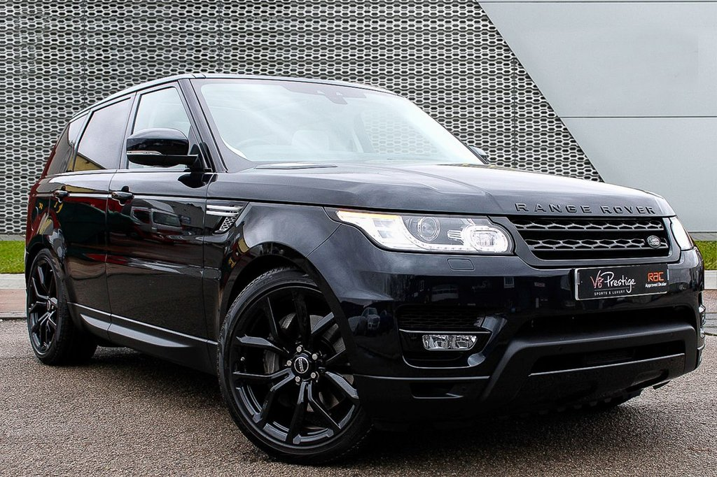 """USED 2017 17 LAND ROVER RANGE ROVER SPORT 3.0 SDV6 HSE AUTO 5d 306 BHP VIRTUAL DISPLAY/22"""" SVR ALLOYS/PAN ROOF"""