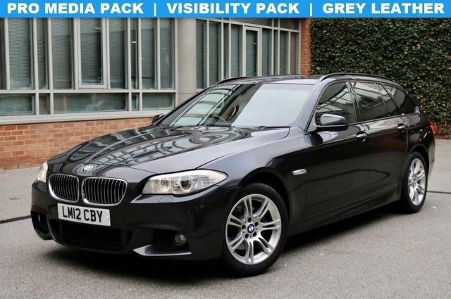 USED 2012 12 BMW 5 SERIES 2.0 520D M SPORT TOURING 5d 181 BHP
