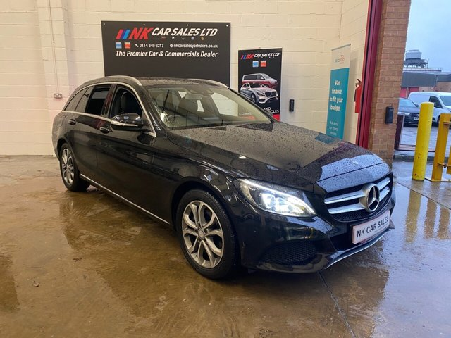 USED 2014 64 MERCEDES-BENZ C-CLASS 2.1 C220 BLUETEC SPORT 5d 170 BHP REVERSE CAMERAS HEATED FRONT SEATS
