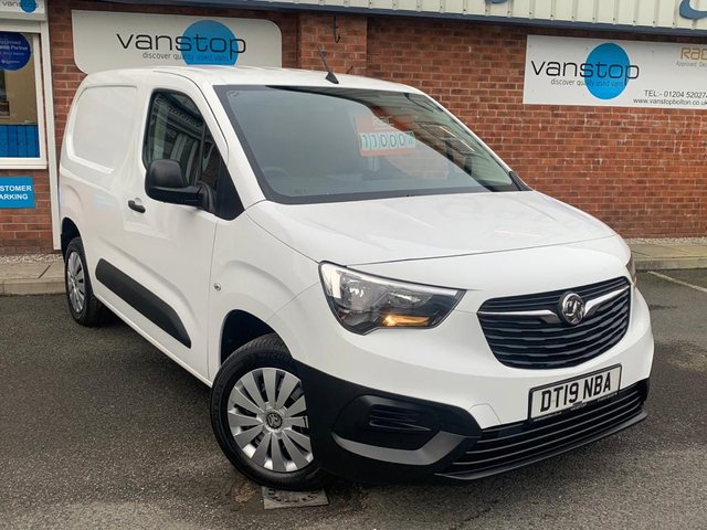 USED 2019 19 VAUXHALL COMBO 1.6 L1H1 2300 EDITION S/S 101 BHP
