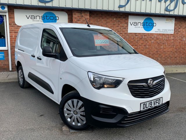 USED 2019 19 VAUXHALL COMBO 1.6 L2H1 2300 EDITION S/S 101 BHP