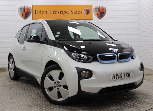 USED 2016 16 BMW I3 0.6 I3 RANGE EXTENDER 60AH 5d 168 BHP
