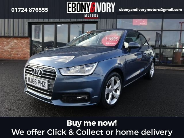 USED 2016 66 AUDI A1 1.6 TDI SPORT 3d 114 BHP + FULL SERVICE HISTORY + 1 YEAR MOT AND BREAKDOWN COVER